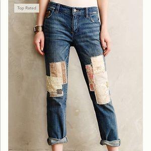 Anthropologie Pilcro HyphenPatchwork Jeans